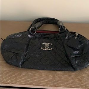 Authentic CHANEL bowler bag.